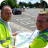 A418 Oxford Road improvements - Mark Shaw and Paul Irwin with plan DSC_1652