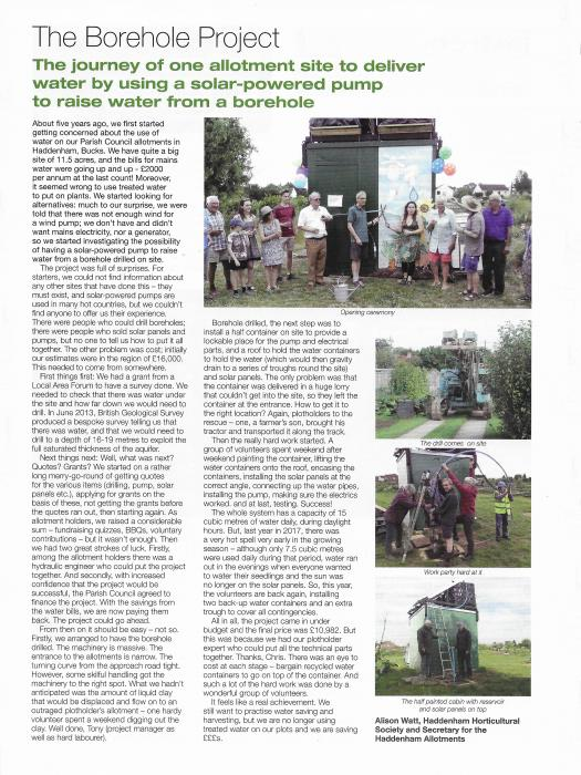 Allotment Magazine article 03