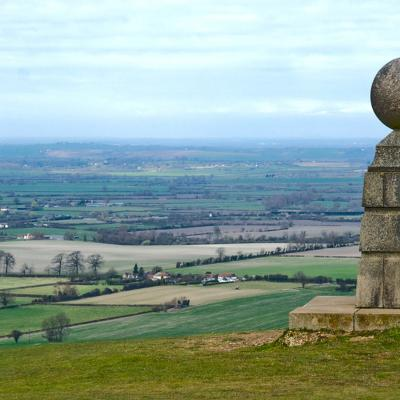 Aylesbury Vale from Coombe Hill