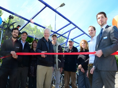 Bike Stands' Official Opening