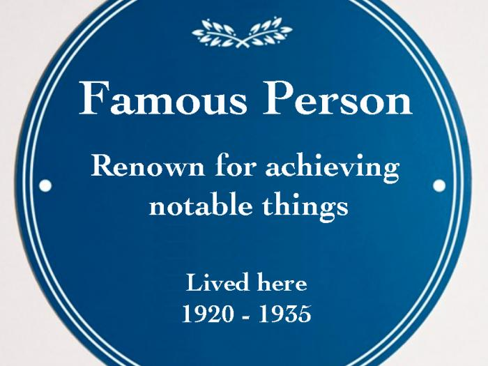 Blue Plaque Initiative
