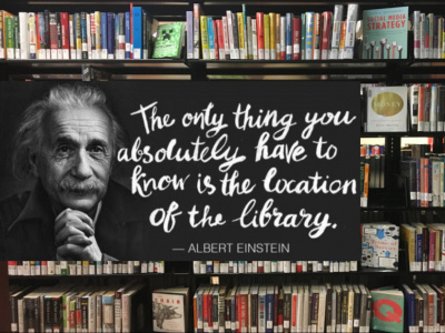 Book-and-Einstein-Quote