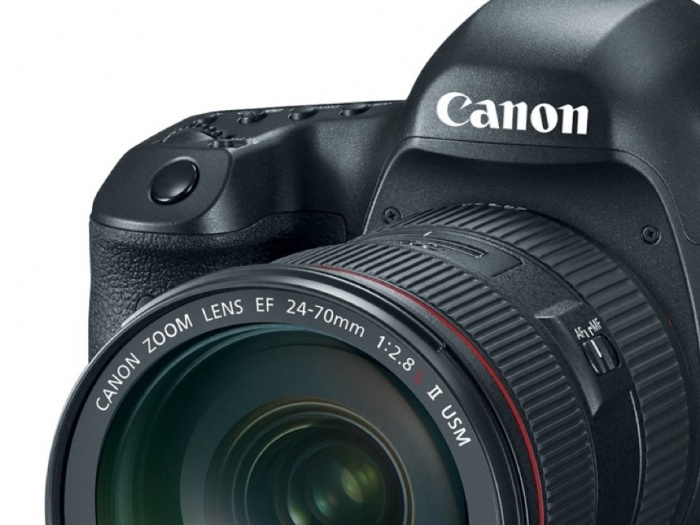 Canon Camera Close-up