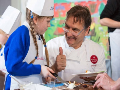 Chef Raymond Blanc in Haddenham 01
