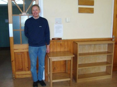 Chris Dowding with Furniture