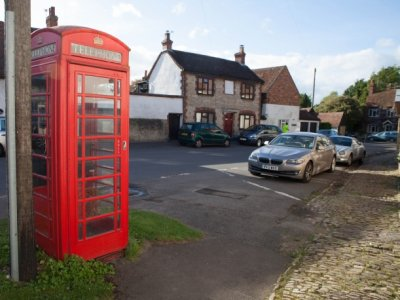 Church End Phone Box