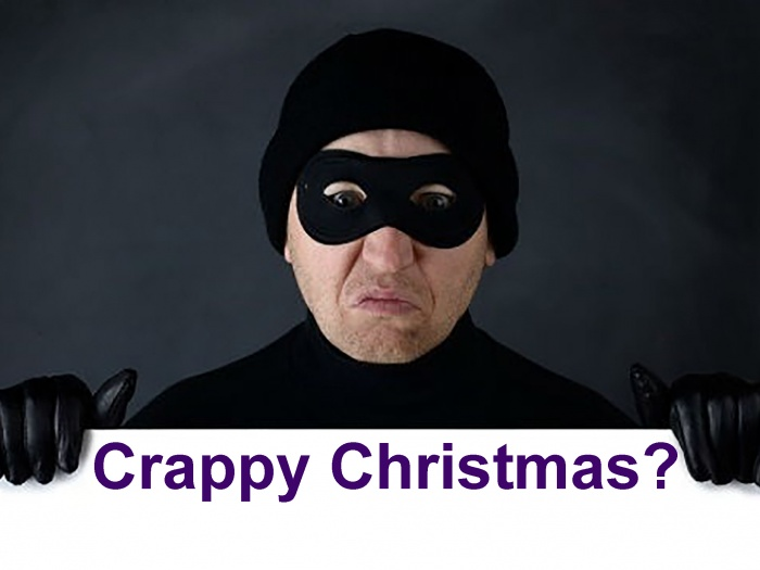 Crappy Christmas Burglar