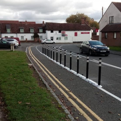 Cycle Lane at Fort End