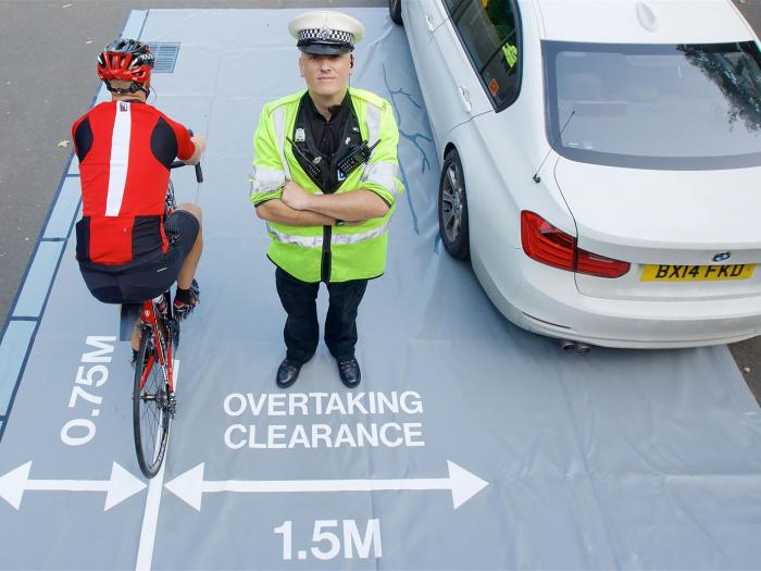 Cycle Overtaking Space