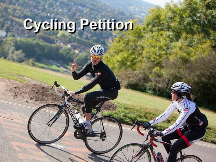 Cycling Petition Image