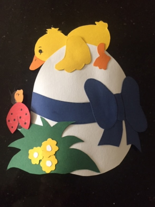 Easter Craft Egg 01
