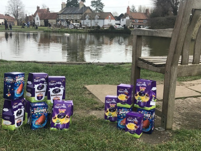 Easter Eggs at Church End