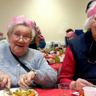 Elderly Christmas Lunch 01
