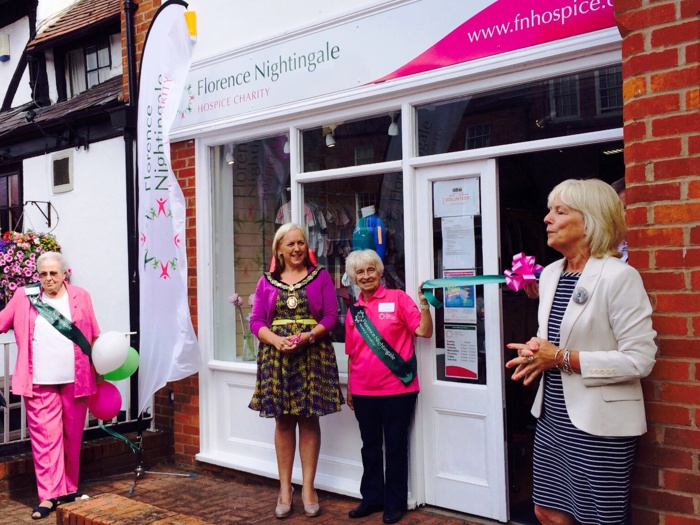 Florence Nightingale Hospice shop in Thame 2