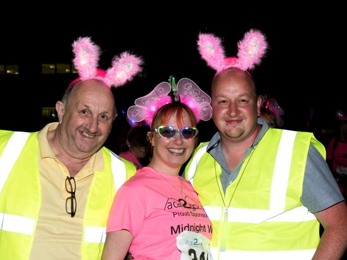 FNHC Midnight Walk men in bunny ears
