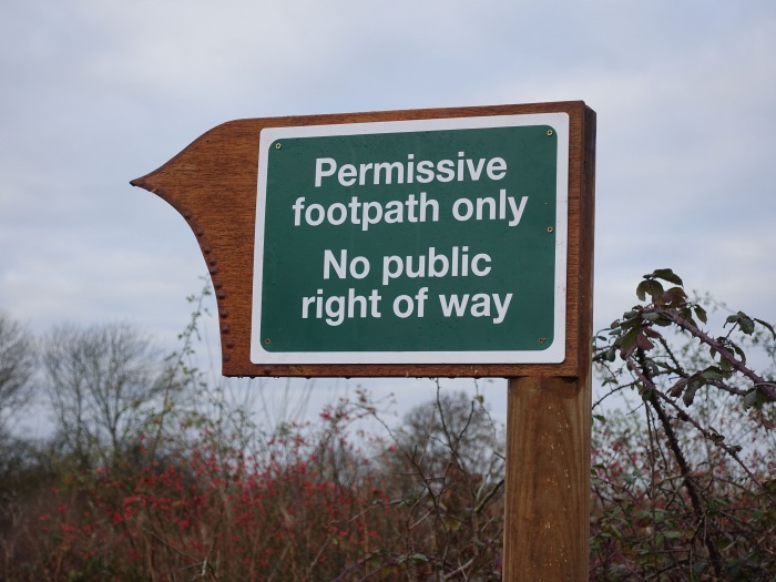 Footpath Sign 04
