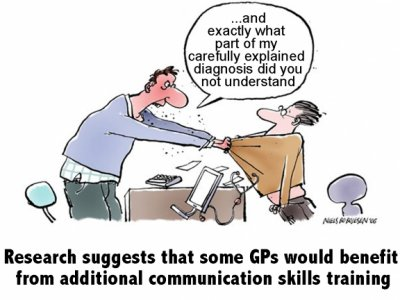 GP Training Cartoon