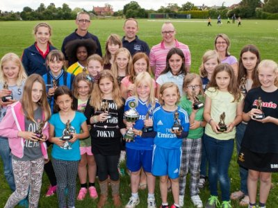 Haddenham Girls' Footballers