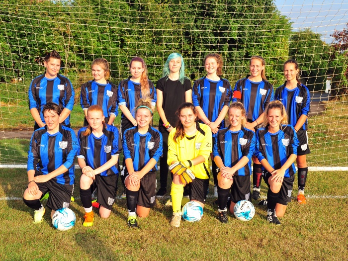 Haddenham Ladies Football 01