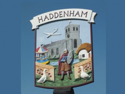 Haddenham Village Sign 01