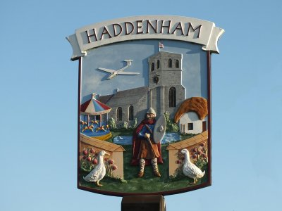 Haddenham Village Sign
