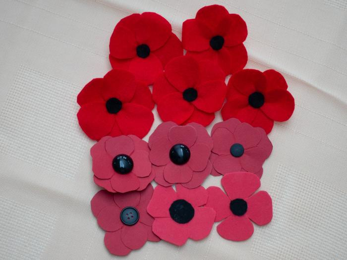 Hand-made Poppies-5