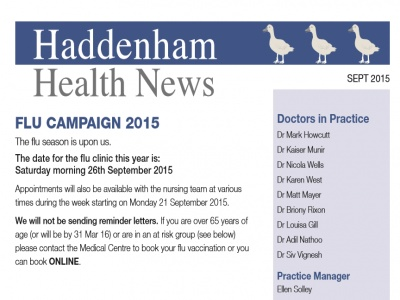 Health News Front Page 01