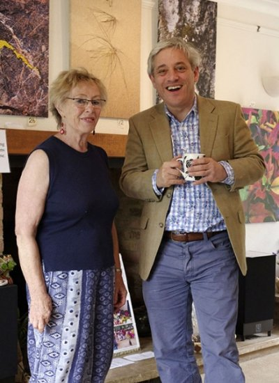 Jenny with John Bercow
