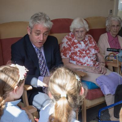 John Bercow at Abbeyfield 04