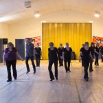 Line Dancing in Haddenham