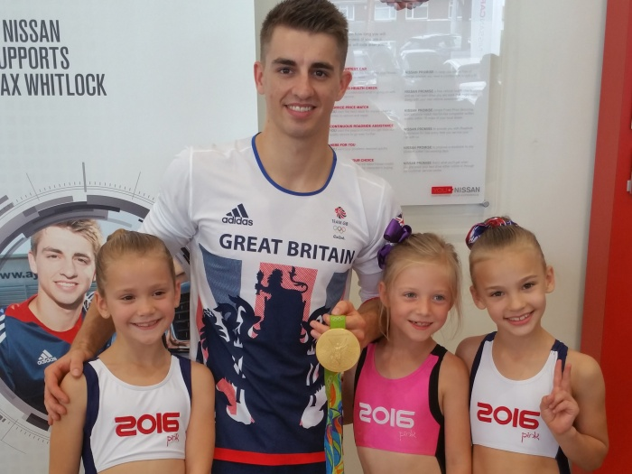 MaxWhitlock & YoungGymnasts