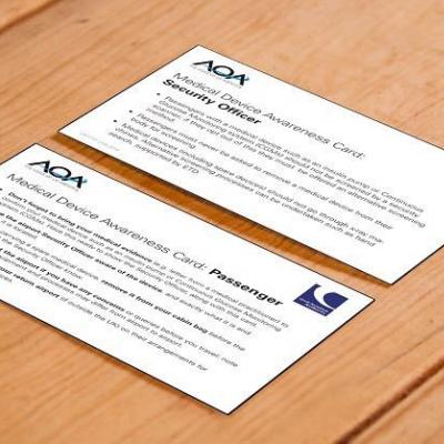 Medical Device Awareness Card
