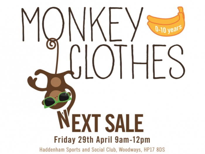 Monkey Clothes Poster Apr16