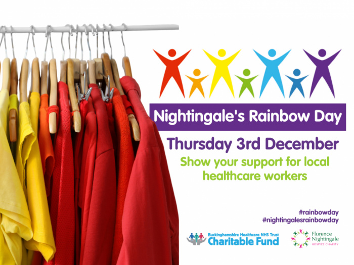 Nightingales Rainbow Day 3rd December