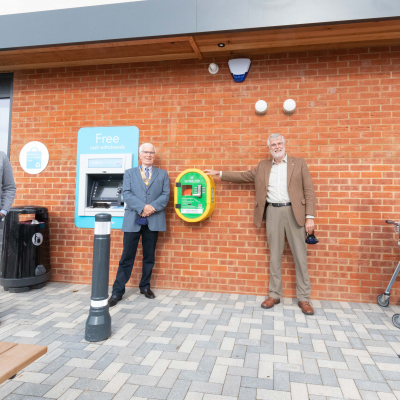 Ofiicial Opening of Co-op Defibrillator