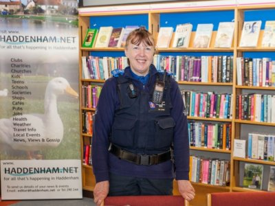 PCSO Sue Jones