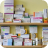 Pharmacy Drug Shelf