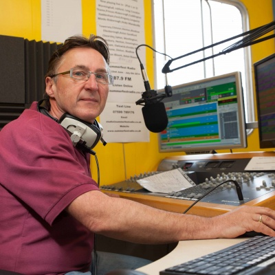 Presenter Mark Zeal on Summerfest Radio