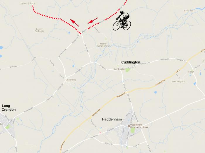 Race Cycle Route 2017