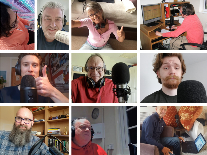 Red Kite Radio Presenters' Montage