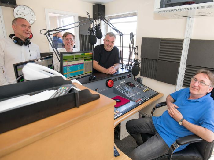 Red Kite Radio Studio 02