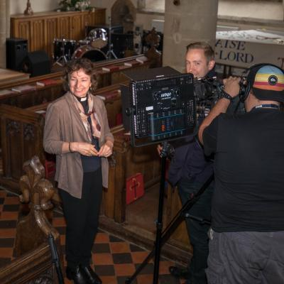 Rev Margot Hodson interviewed by BBC South
