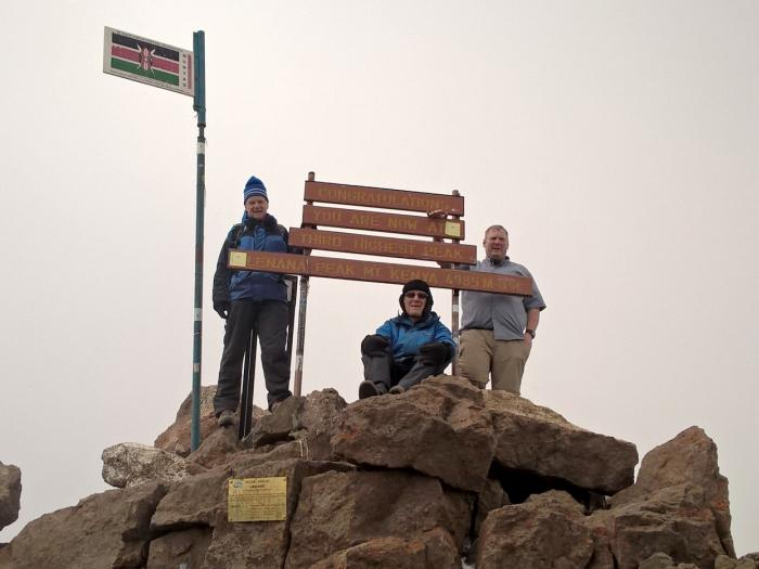 Scaling Mount Kenya