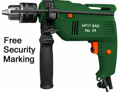 Security Marked Electric Drill