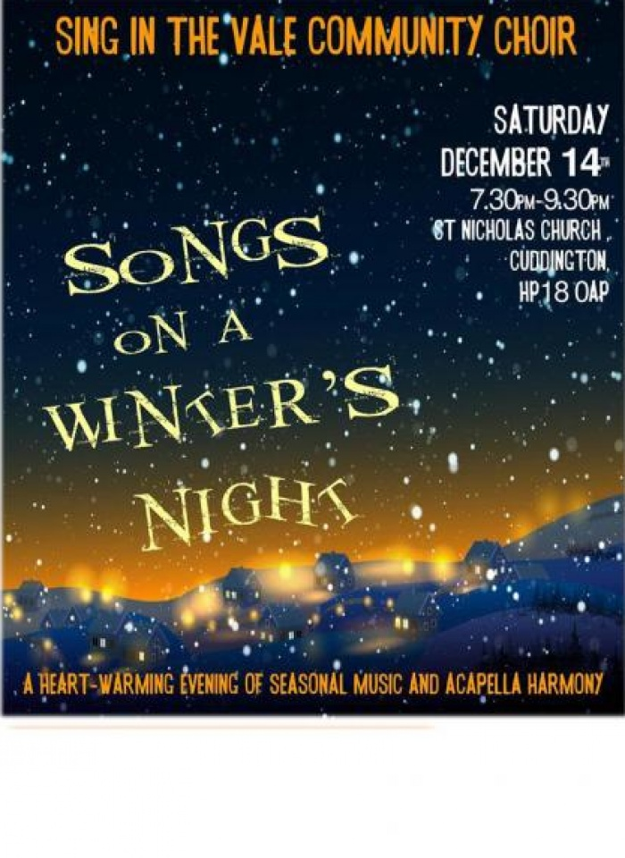 Sing in the Vale Poster Dec19