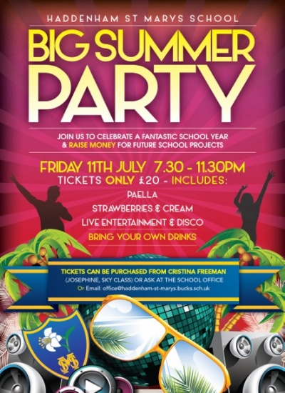 St Marys Big Summer Party