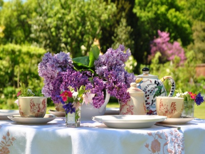 Teas in the Garden