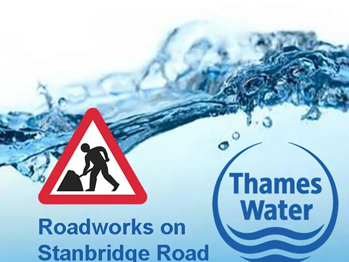 Thames Water Road Works 02