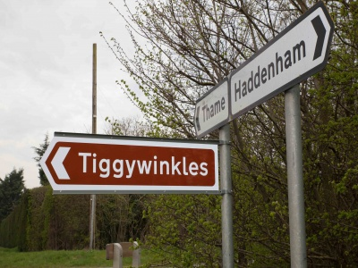 Tiggywinkles Sign 01