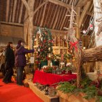 Tythe Barn at Christmas 04